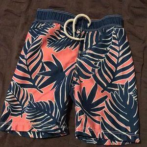 Little boys swim trunks